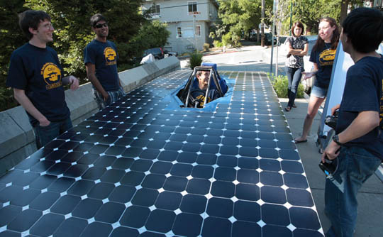 Berkeley solar car created by calsol engineering students at uc diy solar powered cars solutioingenieria Choice Image
