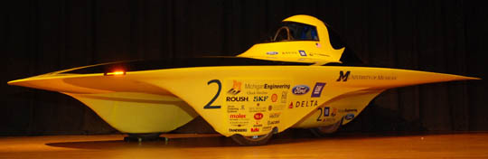 michigan solar car 2009 Infinium