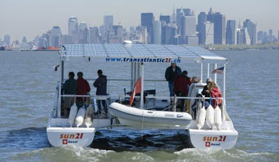 Solar Powered Boats Sailing The High Seas With Free