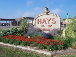 EV Charging Station installation by local Hays electric vehicle charger installers