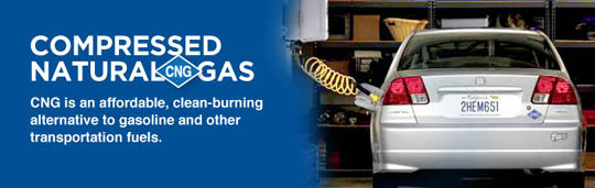 CNG Conversion allows compressed natural gas to be used as fuel in your car