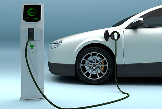 Home Electric Car Charge Station