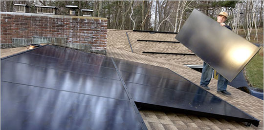 residential solar energy through solar panels is a great investment